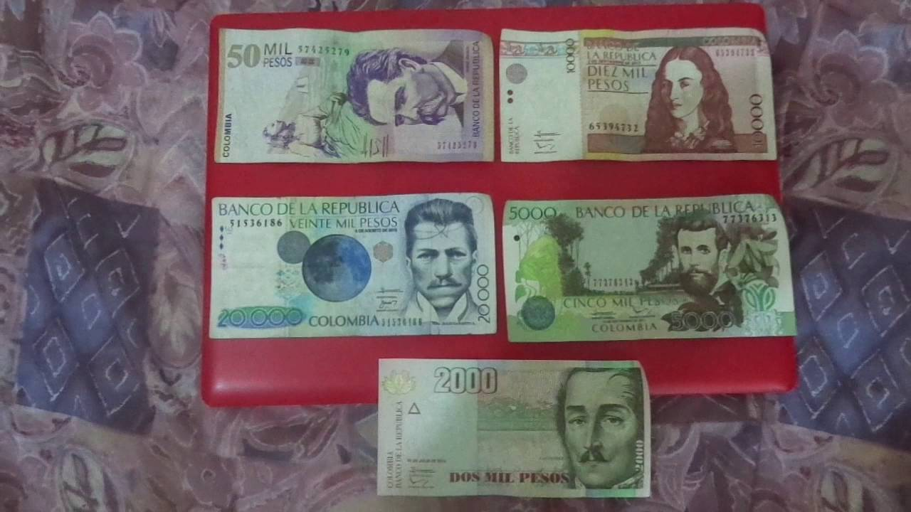 Colombia Currency Exchange Rate With