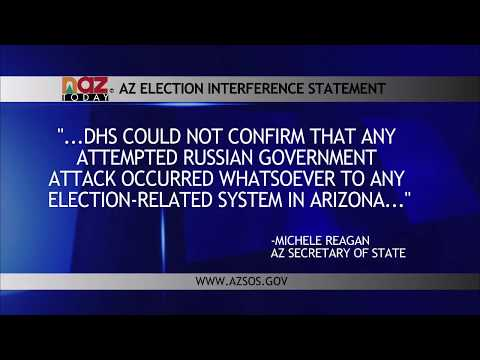 Russian Hacking in Arizona's Elections