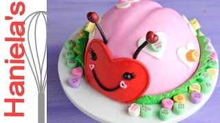 How To Decorate Ladybug Cake For Valentine's Day