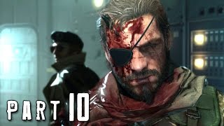 Metal Gear Solid 5 Phantom Pain Walkthrough Gameplay Part 10 - Tanks (MGS5)