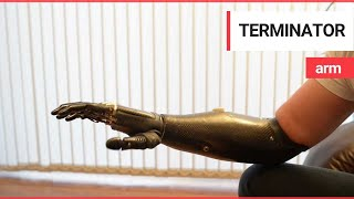'Terminator' arm is world's most advanced prosthetic limb thumbnail