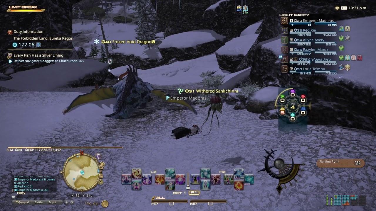 FFXIV Online Eureka Pagos