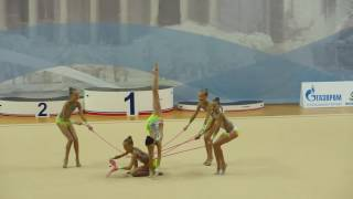 Юный гимнаст 2016, РФСО «Локомотив»;Нижний Новгород,скакалки
