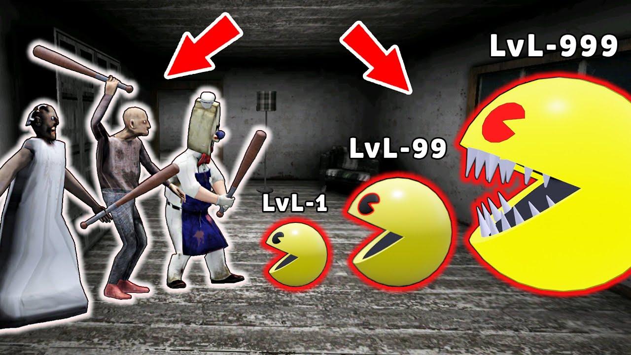 Granny vs Pac-Man Family - funny horror animation parody (p.42)