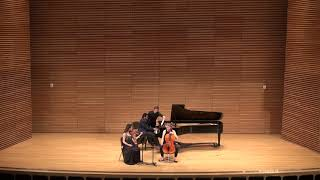 Shostakovich Piano Trio No. 1, Op. 8