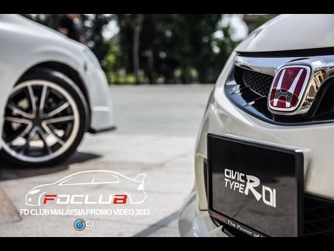 FD Club (Civic Club Malaysia) Promo Video 2015