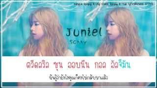 [Karaoke/Thaisub] Juniel - Sorry