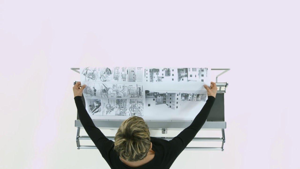 Piegatrici automatiche per carta: animazione pieghe youtube.