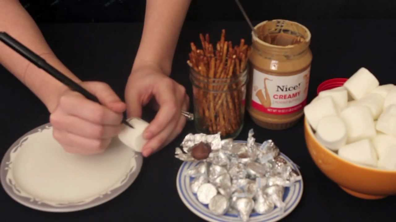 Edible Crafts For Kids To Make Part - 21: Edible Hanukkah Craft For Kids - YouTube