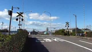 衣浦臨海鉄道・新半田踏切