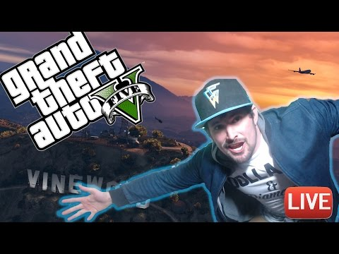 GTA 5 ONLINE - FREE ROAM MADNESS AND CRAZY JOBS WITH THE CREW  & FRIENDS OPEN LOBBIES
