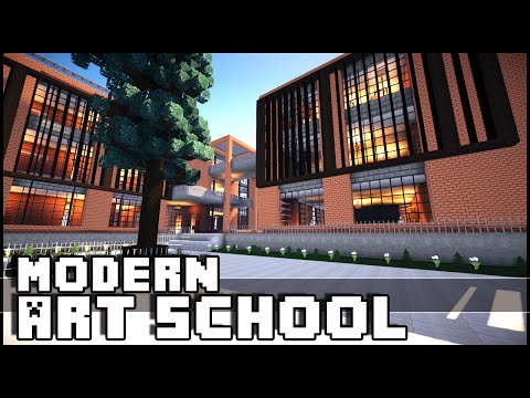Minecraft - Modern Art School