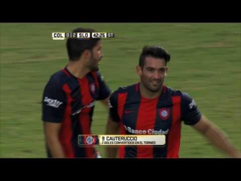 San Lorenzo ganó y sigue cabeza a cabeza con Godoy Cruz copy