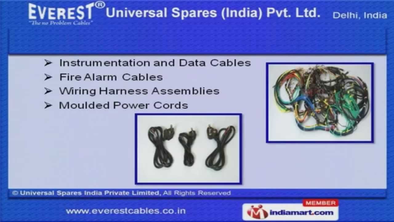 cables and wires by everest cables and connectors private limited delhi [ 1280 x 720 Pixel ]