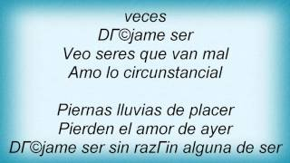 La Ley - Placer Lyrics