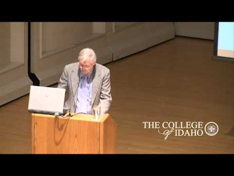 Liberal Arts Lecture - Dr. Don Mansfield