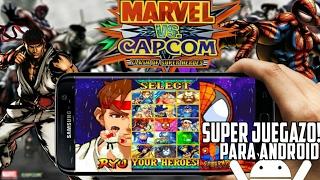 Marvel Vs Capcom Para Android - Sin Emulador! Apk