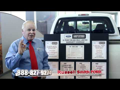 Ford Certified Pre-owned explained