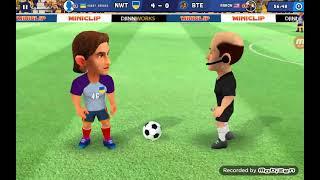 Играем мини футбол