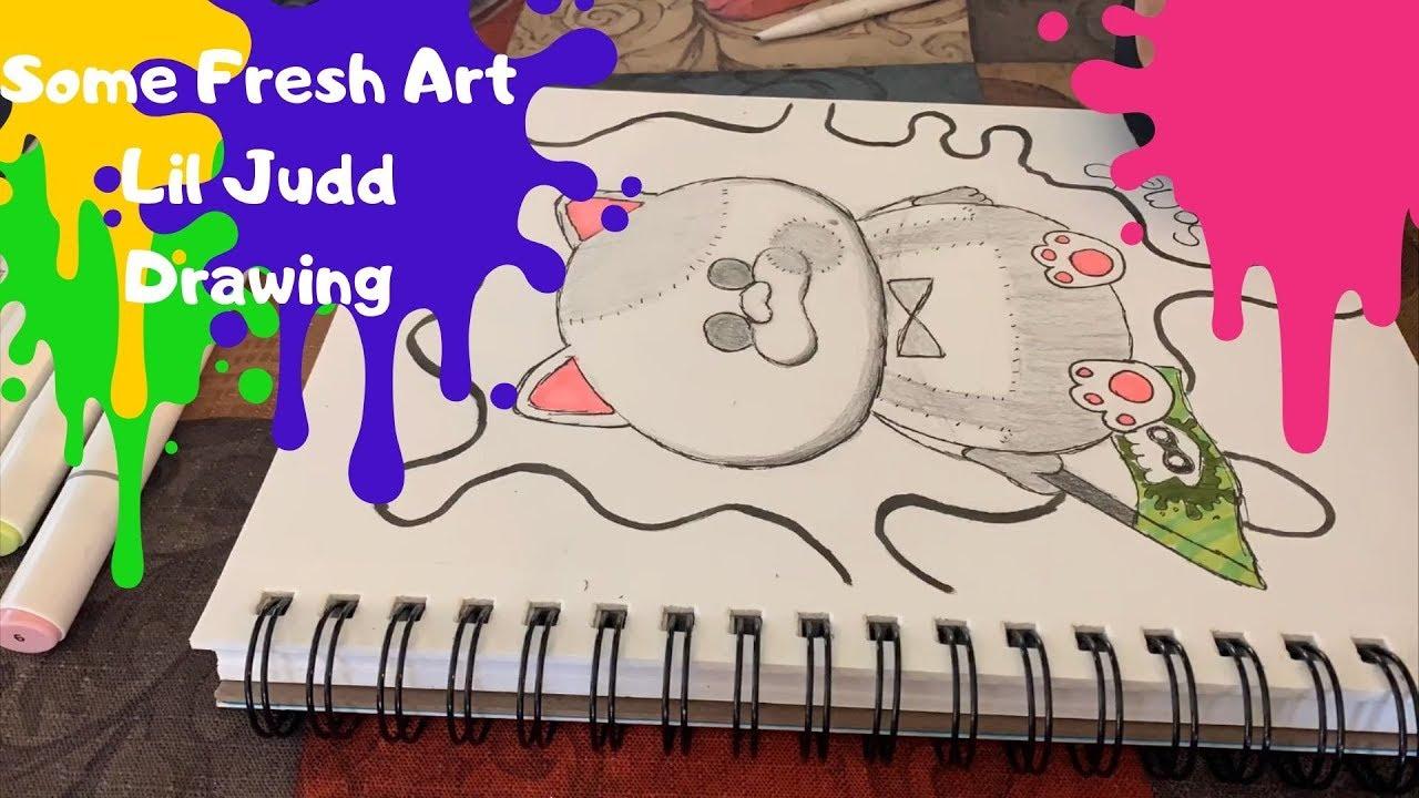 Splatoon 2 Lil Judd Drawing - YouTube
