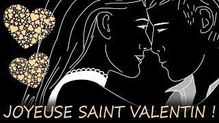 Bonne fête de saint valentin 2018 - carte vidéo de St Valentin
