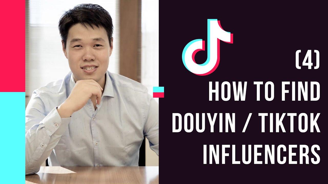 Tiktok Marketing 2020 - How to find Douyin or tiktok influencers full tutorial.