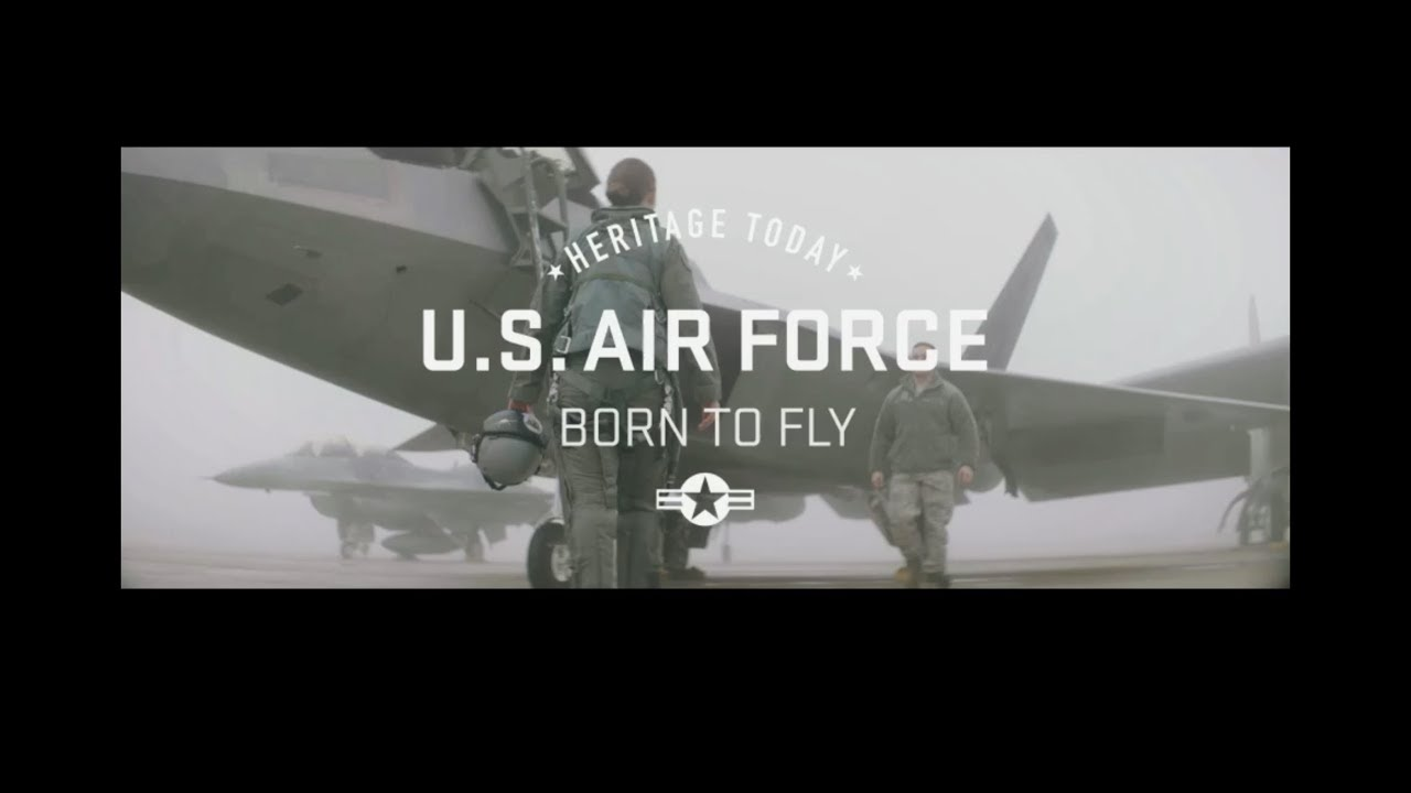 US Air Force Pilots – Born To Fly