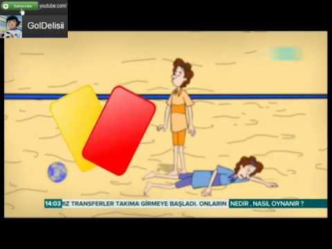 Plaj Futbolu Nedir? Nasıl Oynanır? Animasyonlu Anlatım :)