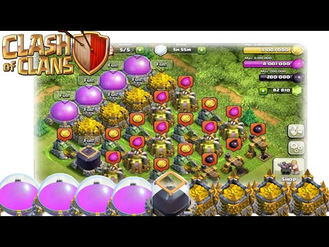 How To Get Up To 3 Million Gold/Elixir An Hour in Clash of Clans! (Best Farming Strategy)
