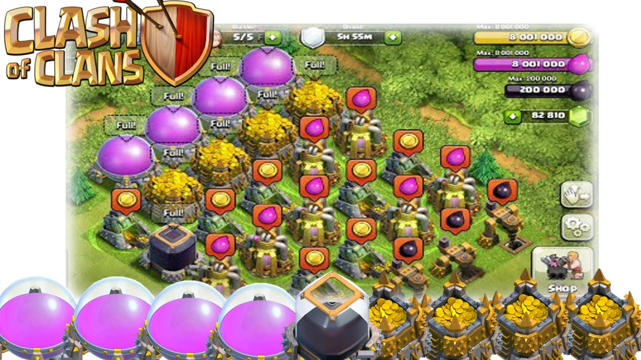 How to get up to 3 million goldelixir an hour in clash of clans how to get up to 3 million goldelixir an hour in clash of clans best farming strategy youtube publicscrutiny Image collections
