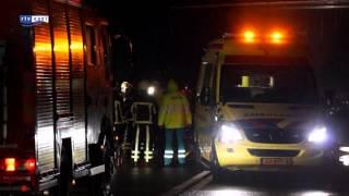 Dode bij aanrijding op de weg N824 tussen Diepenheim en Neede
