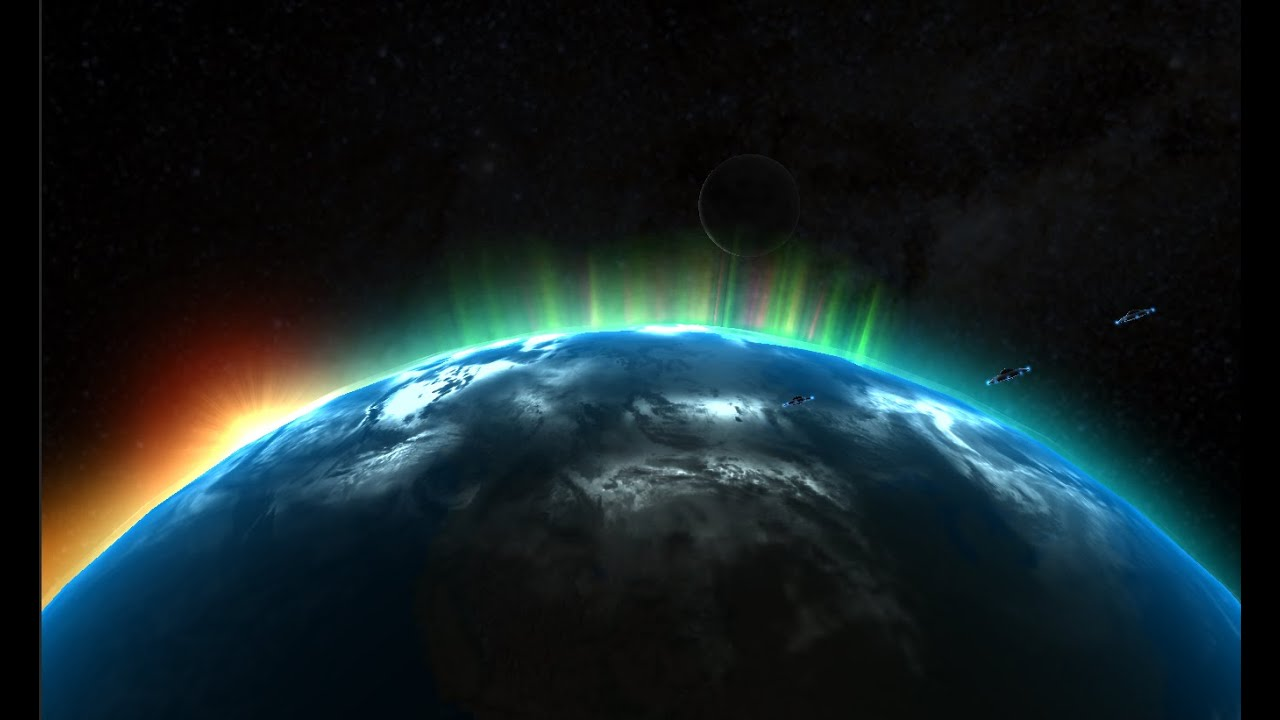 space earth 3d live wallpaper - youtube