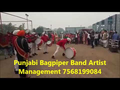 Bagpiper Band Artist Management Booking in Jodhpur 7568199084