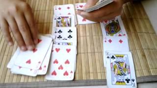 Карточный фокус.Разоблачение. Урок 1