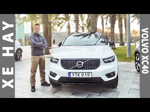 Lái thử Volvo XC40 tại Barcelona |XEHAY.VN|