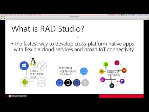 "20170315 ""Getting Ready for RAD Studio 10.2"" webinar recording"