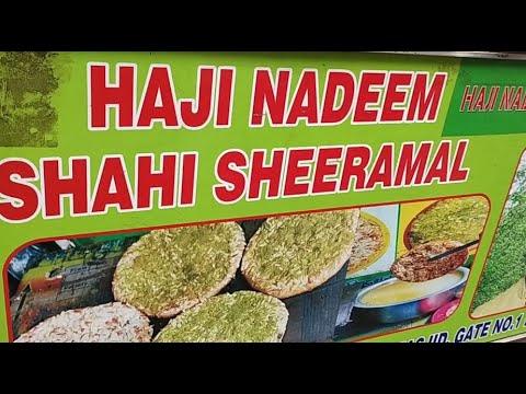 Download Haji Nadeem Shahi Sheermal | Mughlai Sheermal at Jama Masjid old Delhi