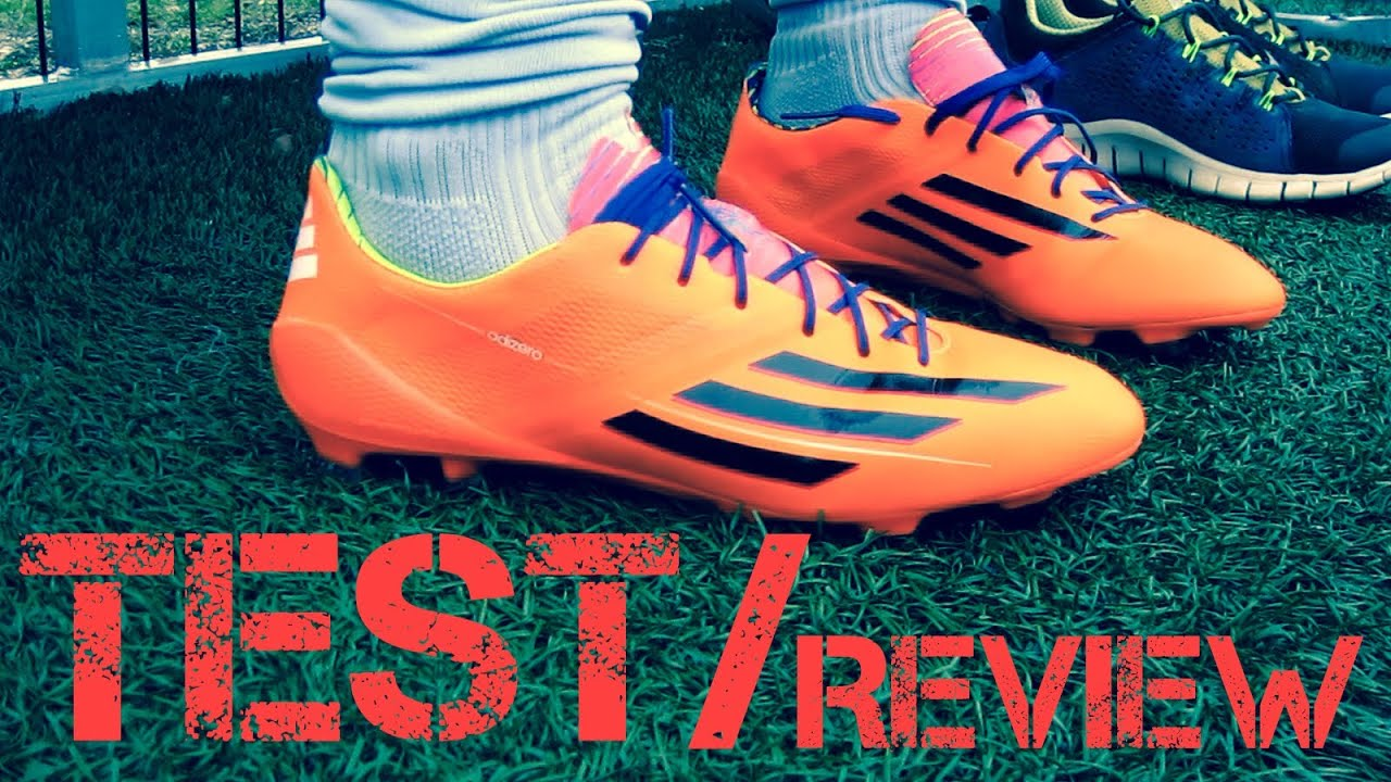 Adidas F50 Adizero Test & Review Battle Pack World Cup 2014 Germankickerz