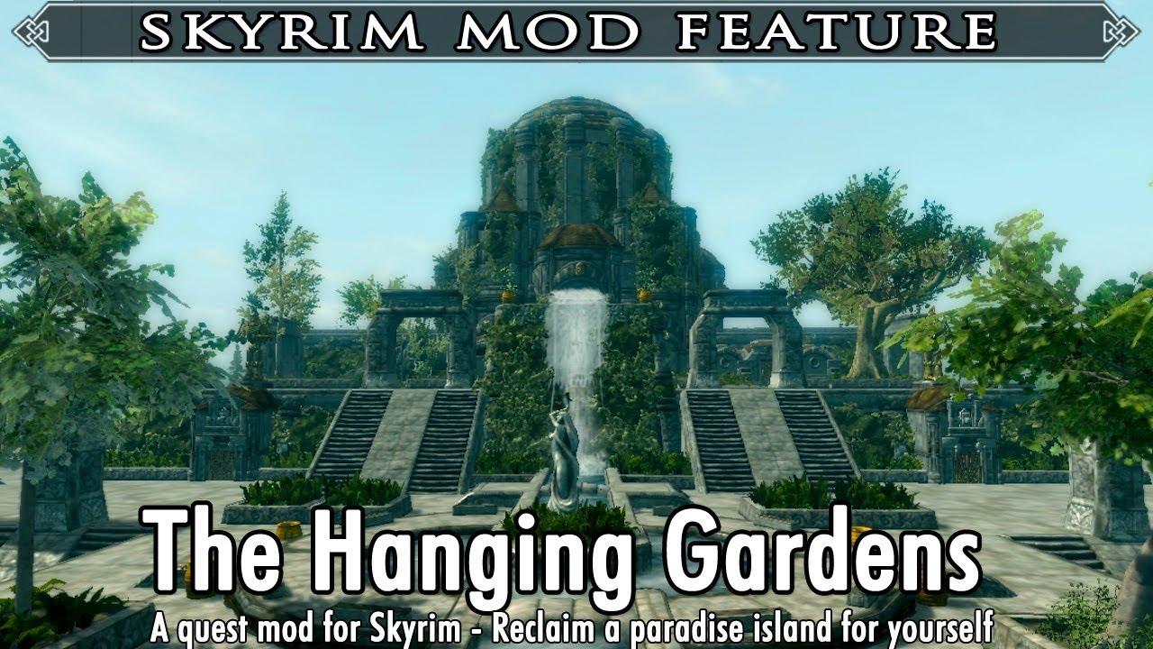 Skyrim Mod Feature: The Hanging Gardens - A Quest Mod by Acid Zebra