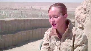U.S. Marine Female Engagement Team in Afghanistan