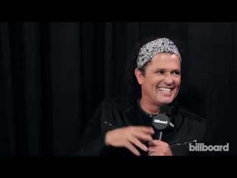 Carlos Vives Backstage at the 2015 Billboard Latin Music Awards