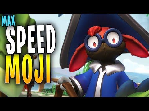 MAX SPEED MOJI IS MENTAL! | Paladins Gameplay