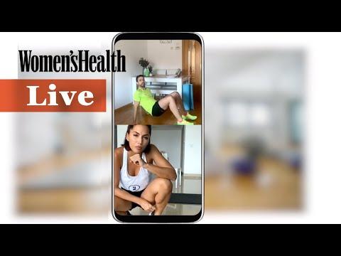 Cómo quemar grasa con esta rutina HIIT + Core | Women's Health España