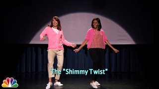 Evolution of Mom Dancing Part 2 (w/Jimmy Fallon & Michelle Obama)