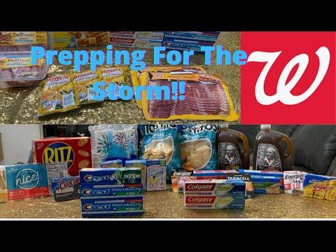 Couponing W Savvy Sab!|Walgreens Prepping For The Storm! #savvysab #wagdeals #walgreens #wags