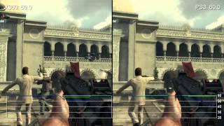 Call of Duty: Black Ops 2 - Comparativa Xbox 360 vs. PlayStation 3