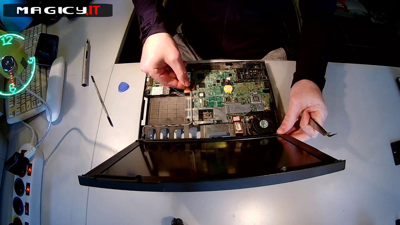 Lenovo ThinkPad X200 Disassembly