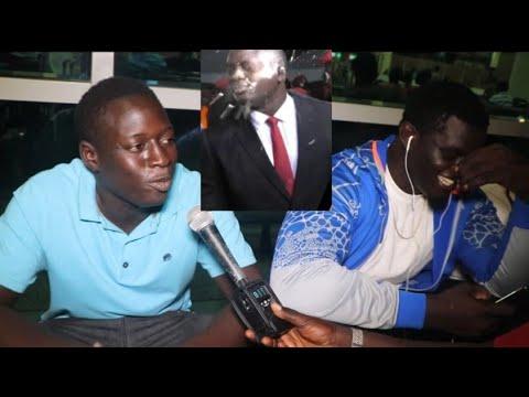 Enfin voici Boy Badou Ndiaye qui avait versé l'eau mystique à Modou Lô face à Balla Gaye 2