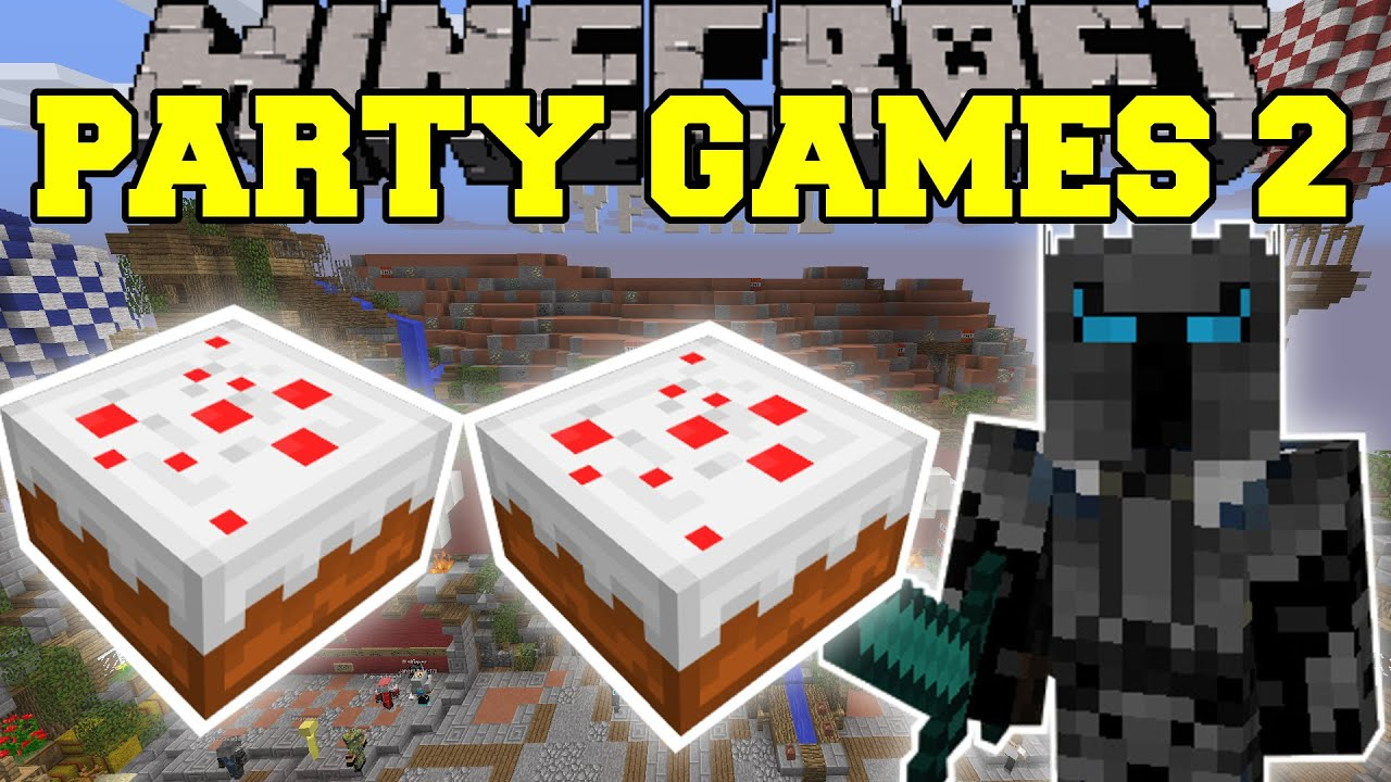 Minecraft PARTY GAMES THE MOST ADDICTING GAMES EVER Mini - Us map game addicting games