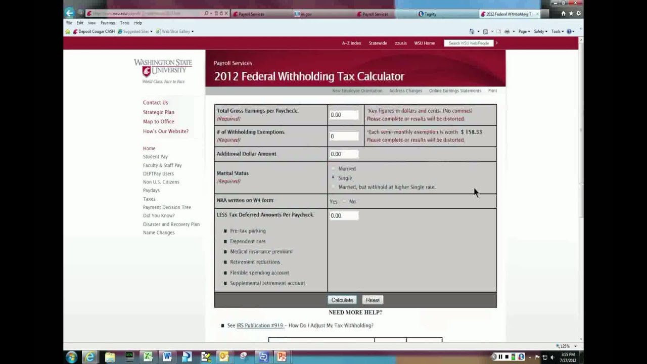 How to complete irs form w 4 youtube falaconquin
